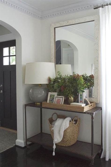 Living Room Console Table by Gorgeous Living Room Features An Industrial Console Table