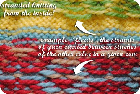 how to carry yarn in fair isle knitting vkc tension puckers even stranded knitting by gum