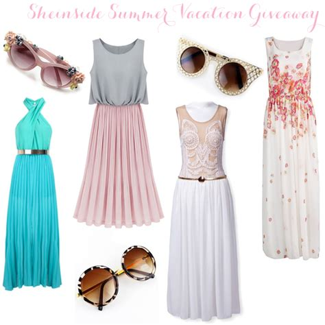 Vacation Giveaways 2014 - get ready for summer sheinside summer vacation giveaway feel wunderbar