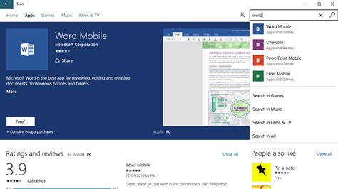 microsoft mobile software how to get microsoft word for free tech advisor