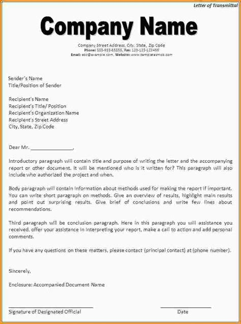 Transmittal Letter For letter of transmittal template beepmunk