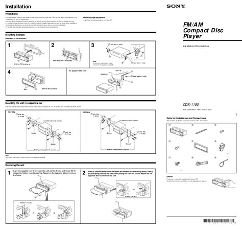 sony car stereo cdx gt260mp wiring diagram wiring diagram