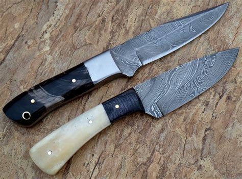 Handmade Knives Uk - rg 021 custom damascus steel knives ideal for