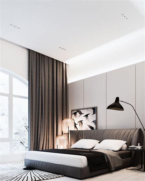 modern interior style  stylish bedroom design roohome