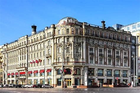 Opulent Furnishings National Hotel In Moscow