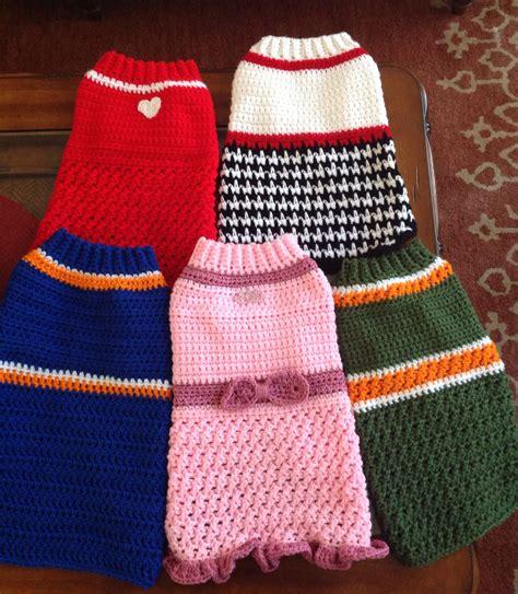 dog jumper pattern crochet free crochet patterns for dog jumpers manet for