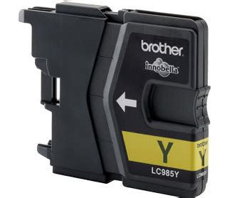 brother dcp j125 yellow ink cartridge 325 pages brother dcp j125 dcp j140w yellow ink cartridge 260 pages
