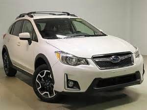 subaru crosstrek 2016 white 2016 subaru crosstrek 2 0i premium for sale moon twp pa