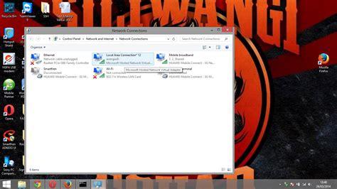 cara membuat jaringan lan menjadi hotspot cara membuat laptop menjadi wifi hotspot di windows 8
