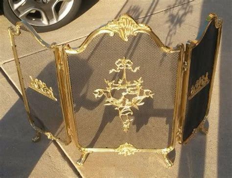 hometalk redoing an brass fireplace screen