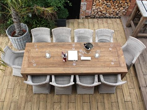10 Person Outdoor Dining Table   seputarindonesa.com