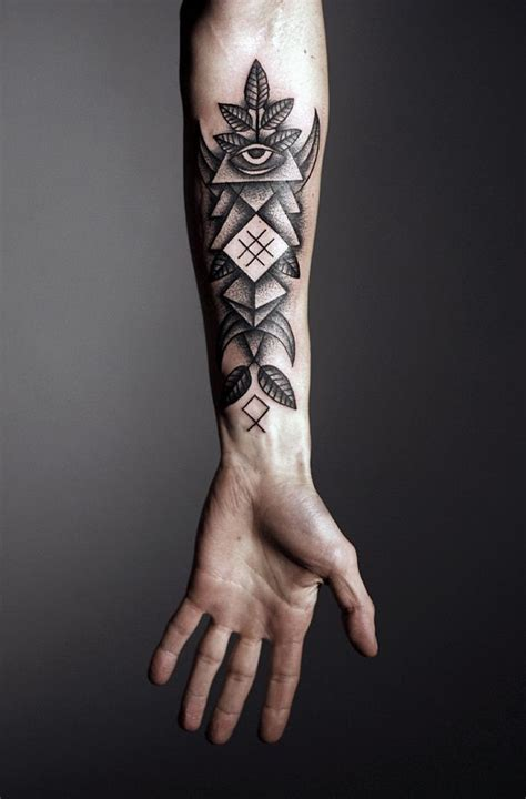 Tattoo Design On Arm | black arm tattoo design