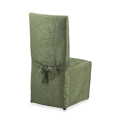 Autumn Scroll Damask Dining Room Chair Cover Www Damask Dining Room Chair Covers