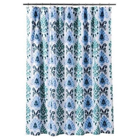 threshold ikat shower curtain threshold ikat shower curtain gray target bathroom