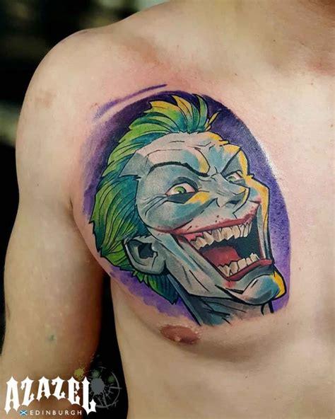 tattoo joker chest joker tattoo on chest best tattoo ideas gallery