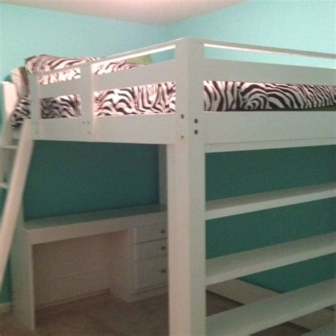 girls full size headboard 1000 ideas about loft bed desk on pinterest city