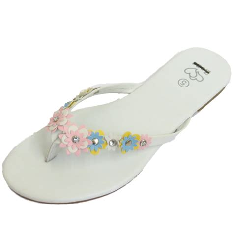 Flower Flip Flops flower flip flop sandals 28 images new womens sandal