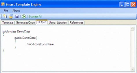 template parser generator write your own code generator or template engine in net