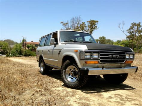 Vintage Toyota Land Cruiser For Sale 1989 Toyota Landcruiser Fj62 Classic Toyota Land Cruiser