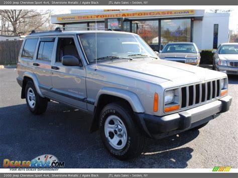 Jeep Sport 4x4 2000 Jeep Sport 4x4 Silverstone Metallic Agate
