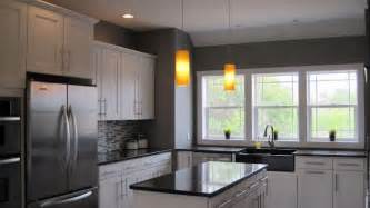 grey kitchen walls home design