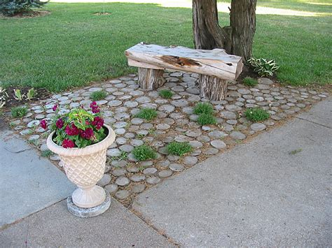Tree Stump Patio stump patio