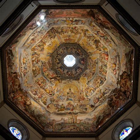 santa dei fiori firenze duomo florence dome ceiling fresco