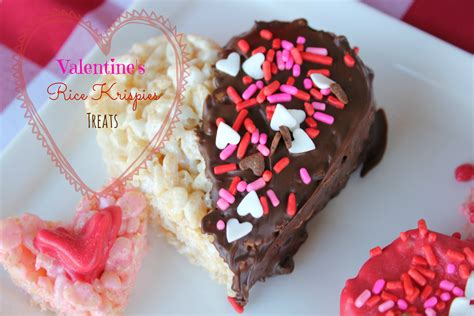valentine s rice krispies treats simply being mommy