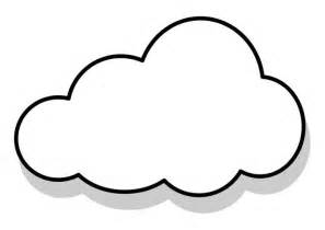Cloud Coloring Picture Clipart Best Coloring Pages Clouds