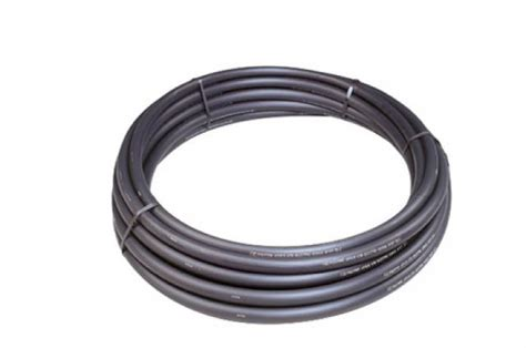 50mm polyduct black 25m coil electric cable duct polypipe