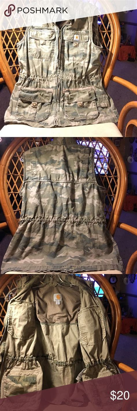 carhartt v26 nwt s sandstone rugged vest sherpa lined 1000 ideas about carhartt vest on bass pro