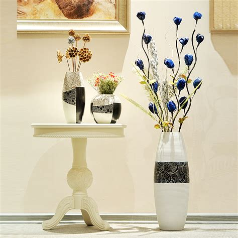 Floor And Decor Coupons by Ceramic Modern Brief Fashion Large Floor Vase Black And