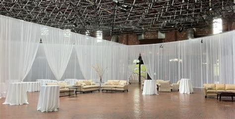 drape rental pipe drape 12 foot sheer wall kit rentals chicago il
