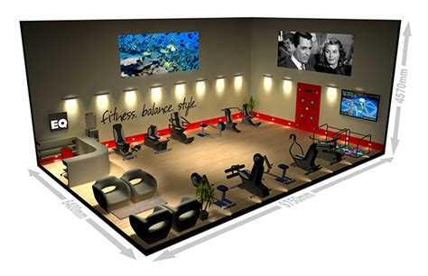 Fitness Center Software by 3d Model For On Behance