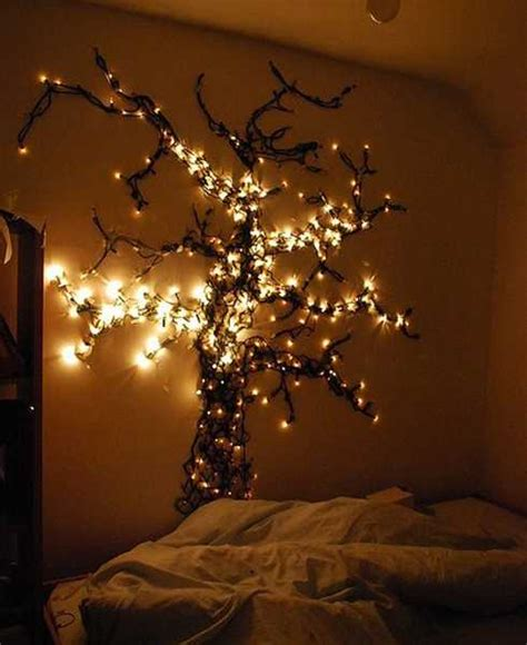Bedroom String Lights Decorative 15 Creative Home Decorating Ideas With Lights