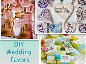 cheap diy wedding favors