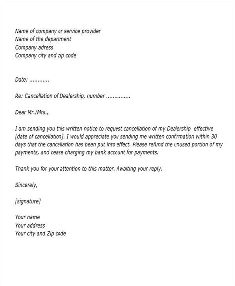 cancellation letter with refund 27 requisition letter formats pdf doc sle templates