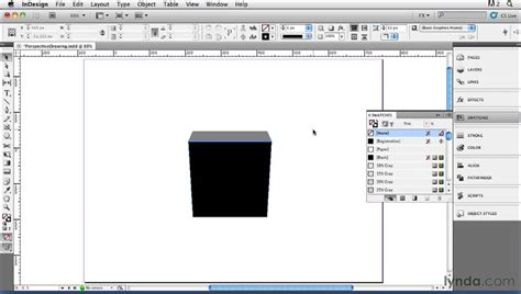 creating shapes indesign how to draw 3d shapes with indesign lynda com indesign