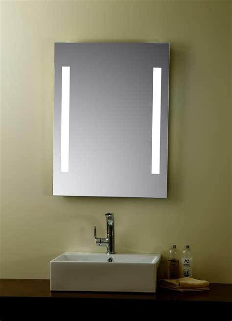 Led Mirrors For Bathrooms Livorno Lighted Vanity Mirror Led Bathroom Mirror