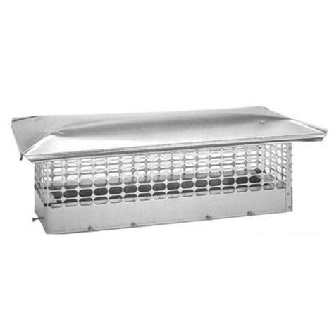 home depot chimney cap the forever cap 8 in x 22 in adjustable stainless steel