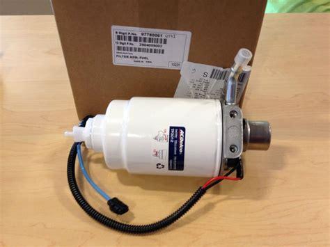 lb7 fuel filter housing genuine gm duramax lb7 fuel filter 01 04 chevy gmc trucks gm 97780061 ebay