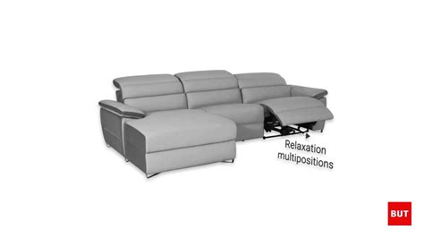 canap relaxation electrique fabulous cosyo canap places
