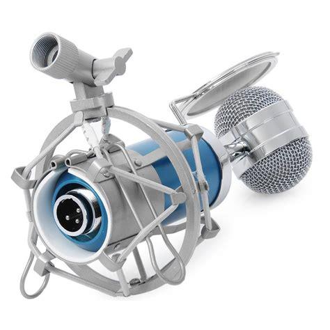 Mikrofon Kondenser Dengan Shock Proof Mount Bm 8000 Limited mikrofon kondenser dengan shock proof mount bm 8000