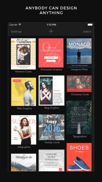 photo design editor app cameraxis graphic design tool typography editor app