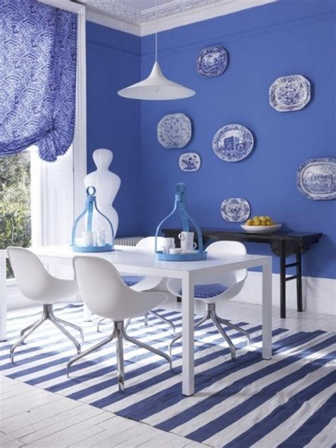 blue and white dining room cornflower blue white dining room blue and white