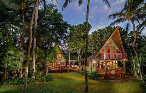 House Plans 5 Bedrooms Big Island Beachfront Polynesian Hideaway Vrbo