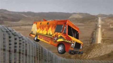 surveillance video mexican invaders jump border wall gif pocho