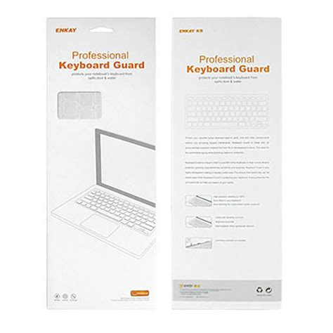 Color Keyboard Protector For Macbook 15 Silver Original100 1 enkay keyboard cover skin macbook air pro silver