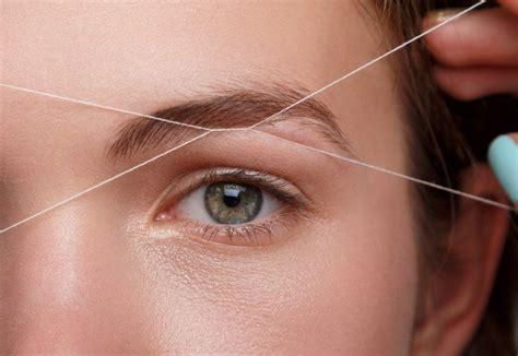 tutorial henna alis eyebrow threading step by step tutorial