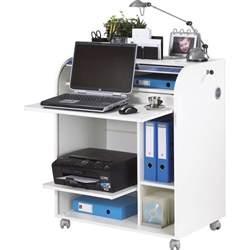 en soldes un bureau informatique blanc meubles et domotique